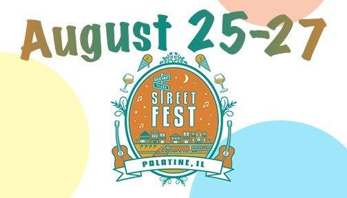 Street Fest August 25-27, 2017