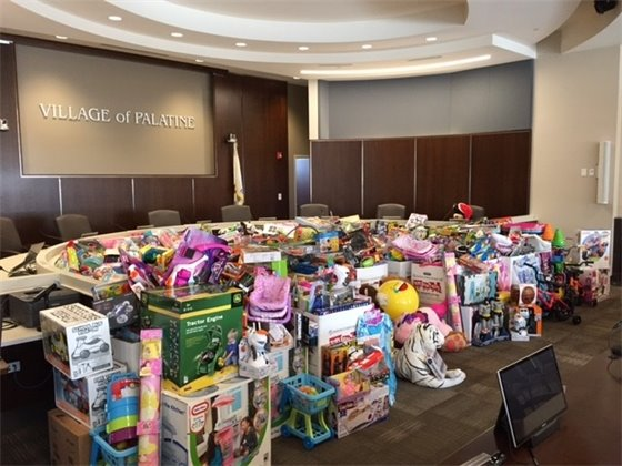 Toys for Tots Holiday Toy Drive