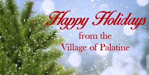 Happy Holidays from the Village of Palatine