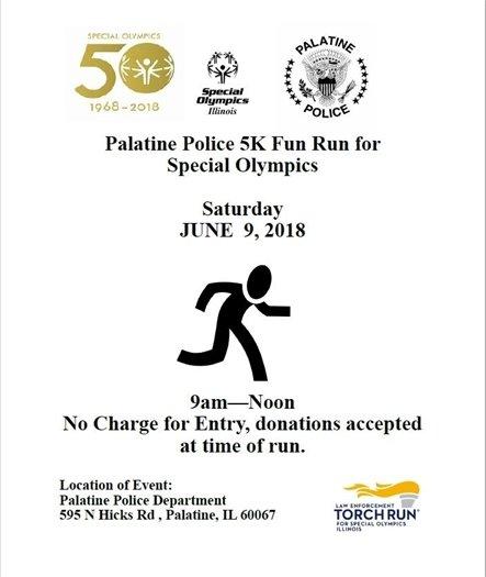 Palatine Police 5k Fun Run