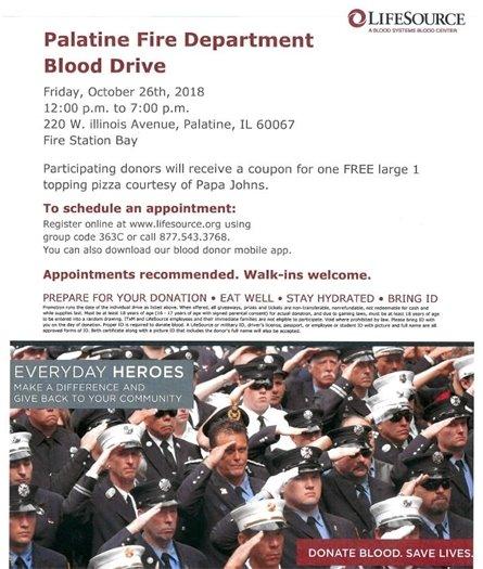 FD Blood Drive