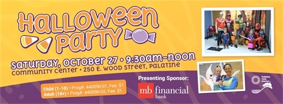 Palatine Parks Halloween Party