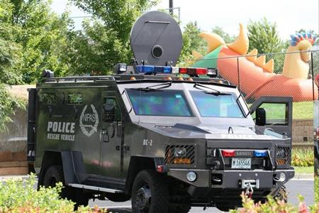 Northern Illinois Police Alarm System Truck