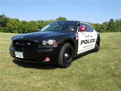 Palatine Police Patrol Car - Front
