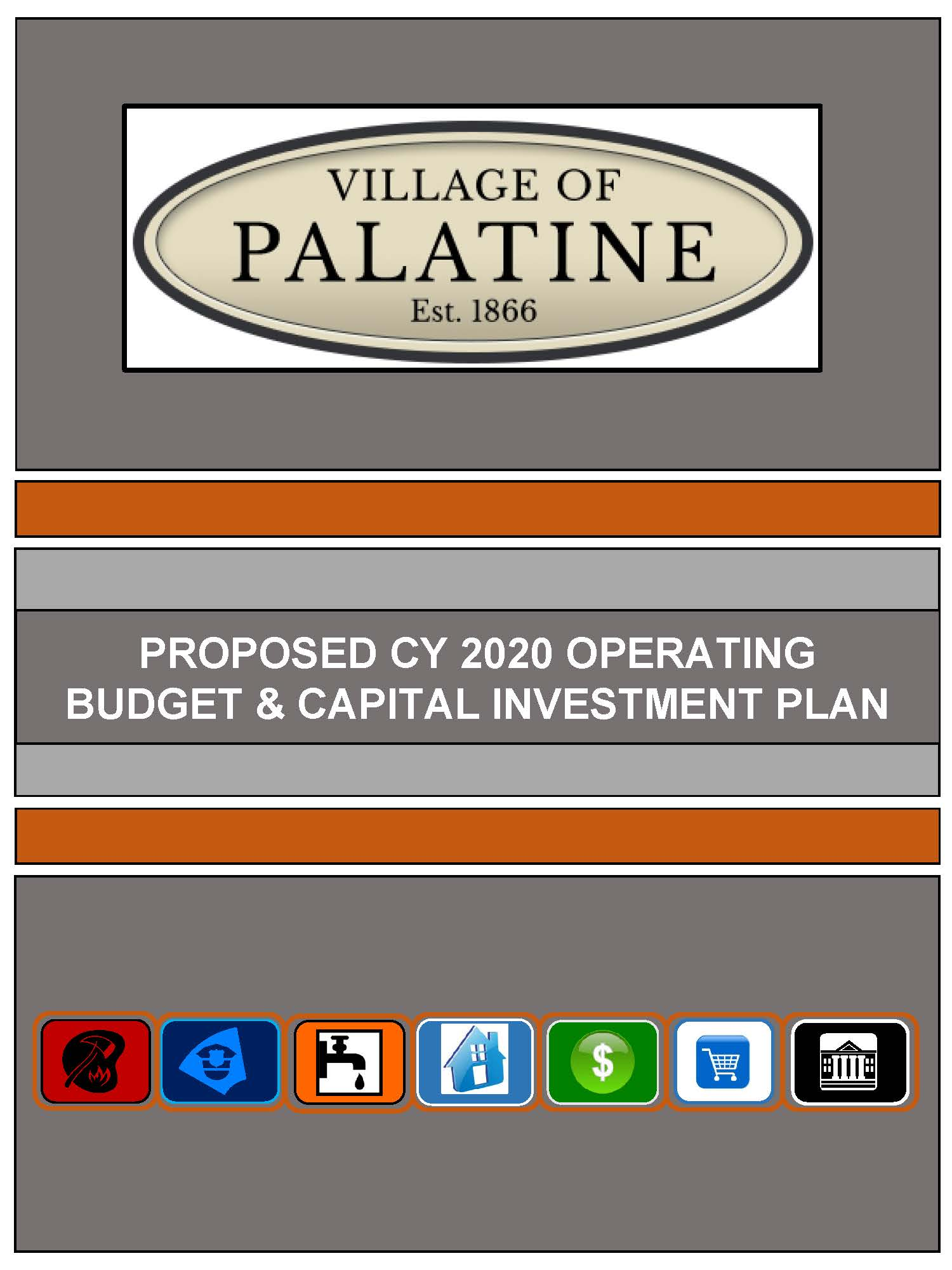 Proposed 2020 Budget Cover