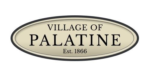 Village of Palatine Oval Logo