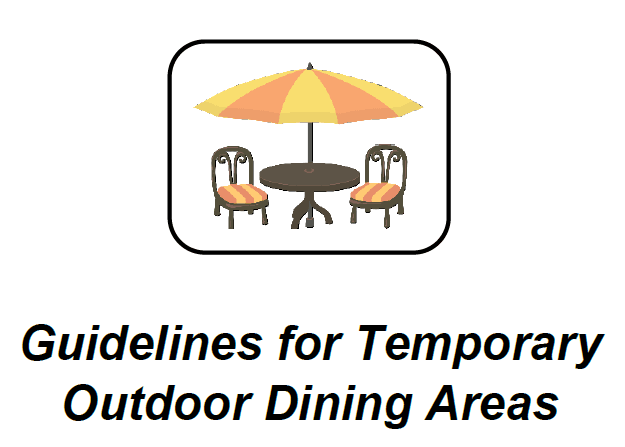 Outdoor Dining Packet Cover