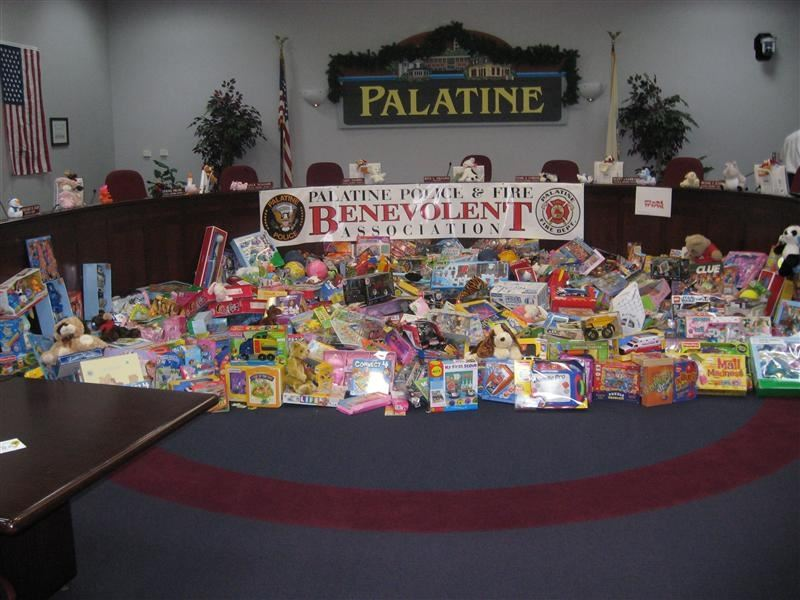 Toys for Tots Toy Pile