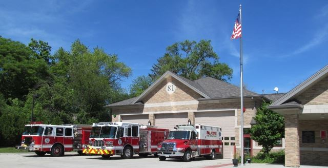 Station 81 With Apparatus