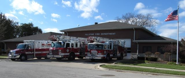 Station 83 With Apparatus