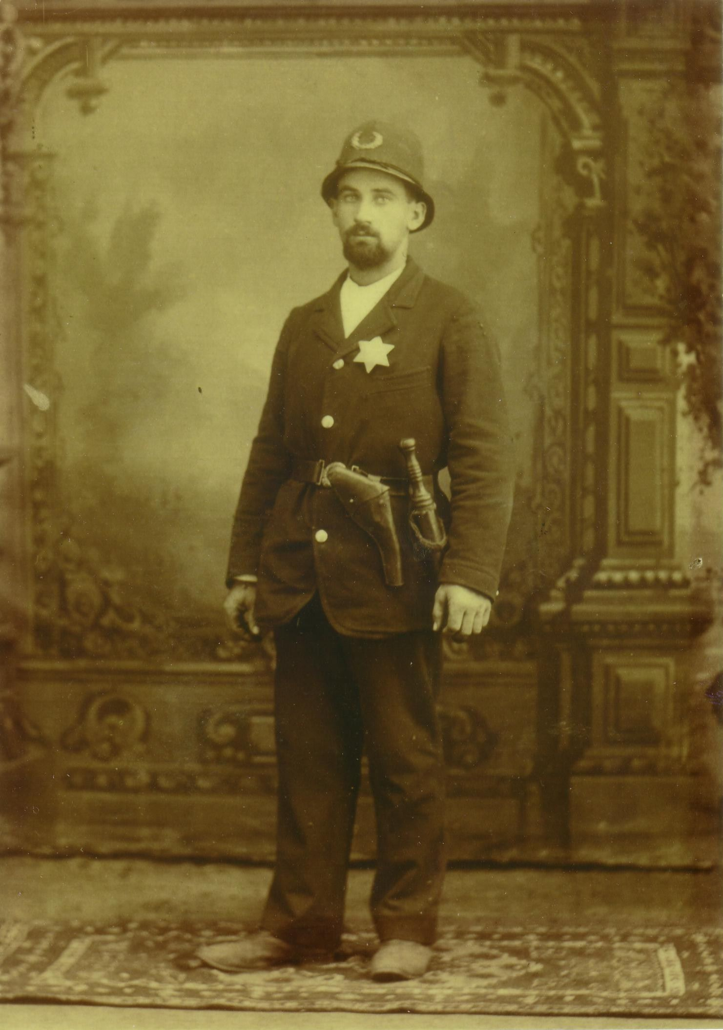 Police Officer in 1897