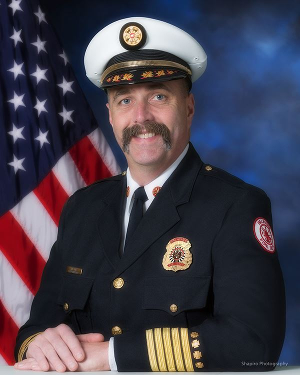 Fire Chief Scott Andersen